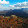 View from Oz at the top of Beech Mountain