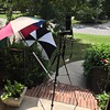 Simple setup at home on the front porch with D80 and some very old golf umbrellas, can you name the vendors they are compliments of ;+)