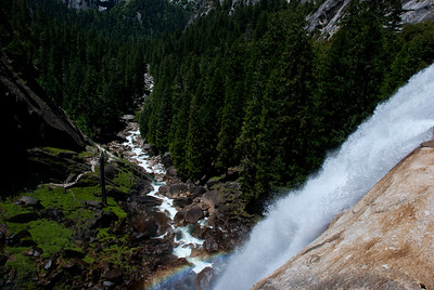 Vernal Falls from Top