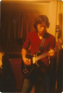 Yours truly with original Ibanez