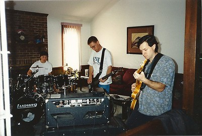 Jam with my very talented brother Peter