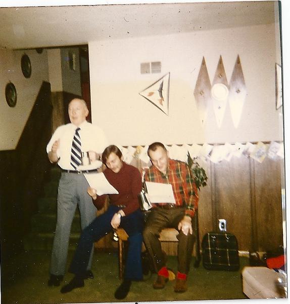 Grandpa George Conley, Uncle Tommy Gumaer, Dad