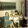 Grandma Anna Gabriela Brozman and Grandpa John Silinski, Mom and Dad, Mike, Tom, and I