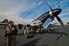 P-51 Mustang and Veteran pilot