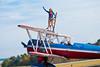 Greg Shelton pilot, and Ashley Battles wingwalker