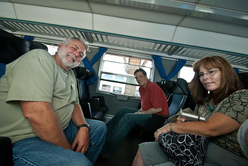 Happy go lucky travelers