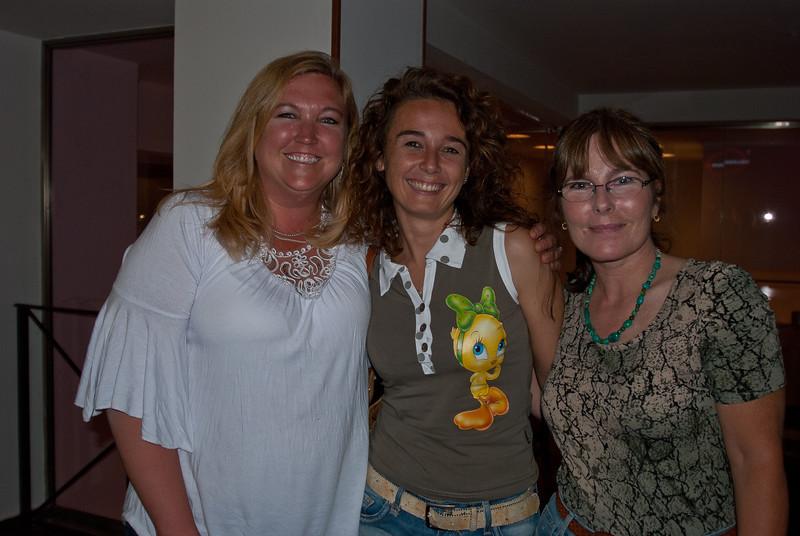 Coleen, Alesandra, and Tish