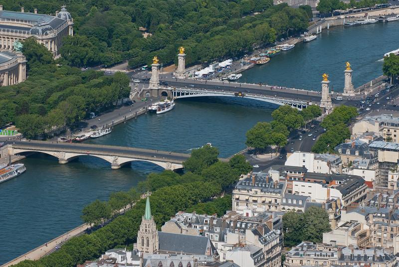Concorde from Eiffel