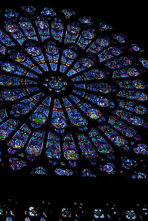 Notre Dame from inside