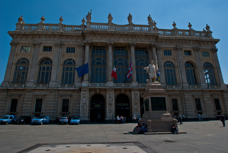 Palazzo Madama , Turin's Museum of ancient art , built in 1861