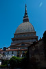 Built originally in the late 19th century as a Jewish synagogue, the Mole Antonelliana dome, now home to the National Museum of Cinema