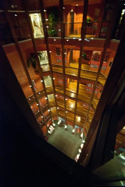 Inside the Santo Stefano lobby