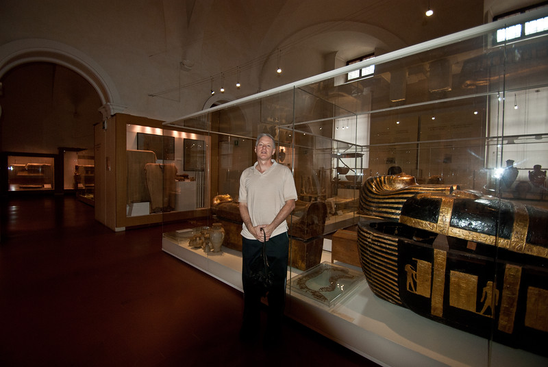 Tourist who will one day be mummified