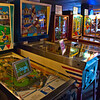 "Old time gaming, at the Asheville Pinball ""Museum"""