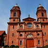 Basilica is a special designation by the Pope to certain churches because of their antiquity, dignity, historical importanceor significance as a place to worship. There are 56 Basilicas in the US. To qualify as a Basilica 3 criteria must be met:<br /> 1. Long history with people in the area 2. Afford the possibility of more than one liturgy being celebrated simultaneously 3. All rites executed in an exemplary way with fidelity to liturgical norms.