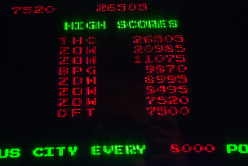 Missile Command! So close to number 1, if only I had a few more hours to practice