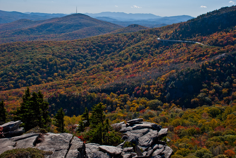 View from Rough Ridge, one of my favorite hikes and vantage points in the Appalachians
