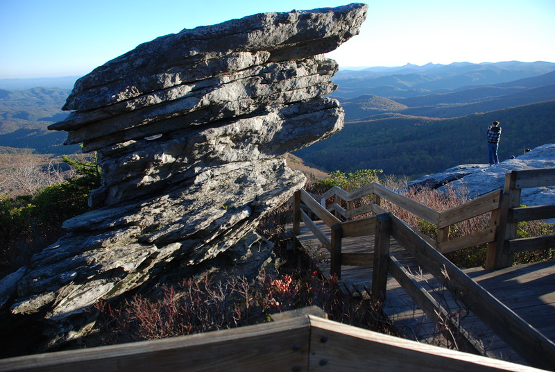 Rough Ridge Overlook on a crisp fall day