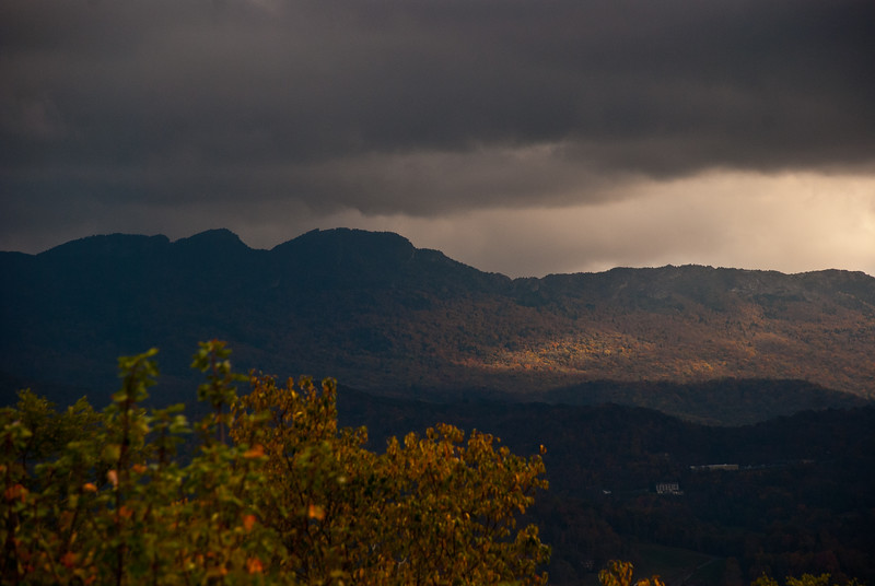 Grandfather Mountain from Beech