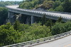 Linn Cove Viaduct on a summer day