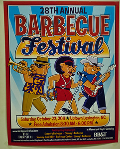 http://barbecuefestival.com/history.html  Story behind the notoriety https://www.washingtonpost.com/archive/lifestyle/magazine/2000/09/24/north-carolina/fbc4e34f-8605-4c9b-a6dd-e218b37cf60e/
