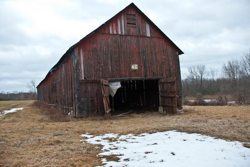 Windsor Locks Barn, spring thaw?