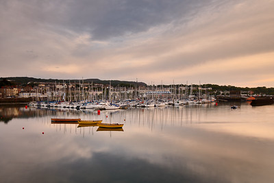 Reflections at Howth Harbour-1L8A9410