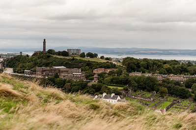 Carlton Hill from Holyrood Park