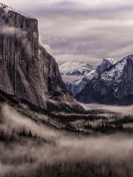 Moods of Yosemite Valley