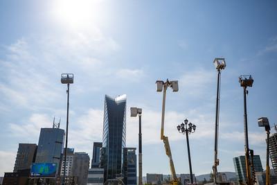 """2021 оны есдүгээр сарын 10. Улаанбаатар хотын инженерийн хангамж, гэрэлтүүлгийн ашиглалт, хог хаягдлын үйлчилгээний байгууллагын  өвөлжилтийн бэлтгэл ажил, шуурхай ажиллагааны бэлэн байдлыг шалгах, үнэлэлт, дүгнэлт, зөвлөмж өгөх, харилцан туршлага солилцуулах """"ХОТ ӨВӨЛД БЭЛЭН"""" нэгдсэн  арга хэмжээ боллоо.  ГЭРЭЛ ЗУРГИЙГ Б.БЯМБА-ОЧИР/MPA"""