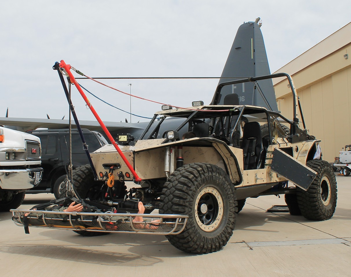 Customs & Border Patrol Dune Buggy