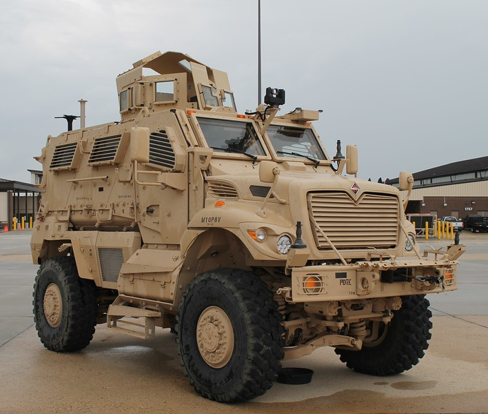 The International MaxxPro by Navistar Defense  - 2014