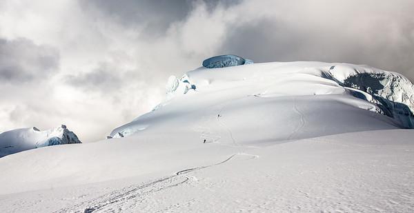 Pisco summit run