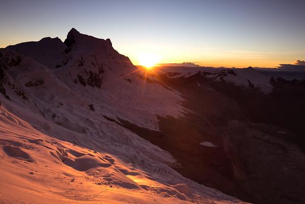 Sunrise over Pisco