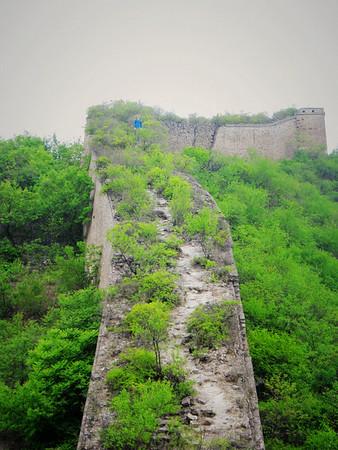 【summer】Zhuangdaokou to Huanghuacheng Great Wall hiking