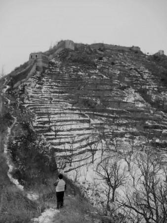 【winter】Zhuangdaokou Great Wall hiking
