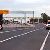 Phase 1A traffic shift on EB SR 528.