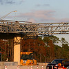 Welbro has erected the AVI truss between lanes 4 and 13 while demolishing the existing center canopy.