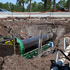 Central Florida Underground perform a jack and boring operation under EB and WB SR 528.