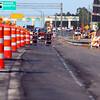 HCC MOT crews prep for Phase 1A traffic shift.