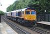 66772 + 66701 0Z71 Trafford Park to Doncaster decoy 010