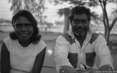 Brobie & daughter  Halls Creek 1968