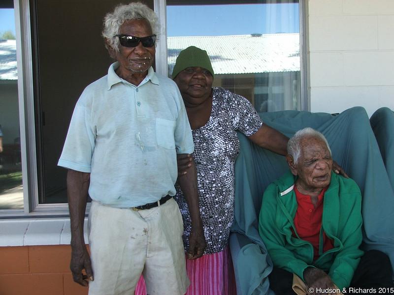 Jimmy Nerrima (Mawukura), Polly, Alec Rogers (Lanyi)