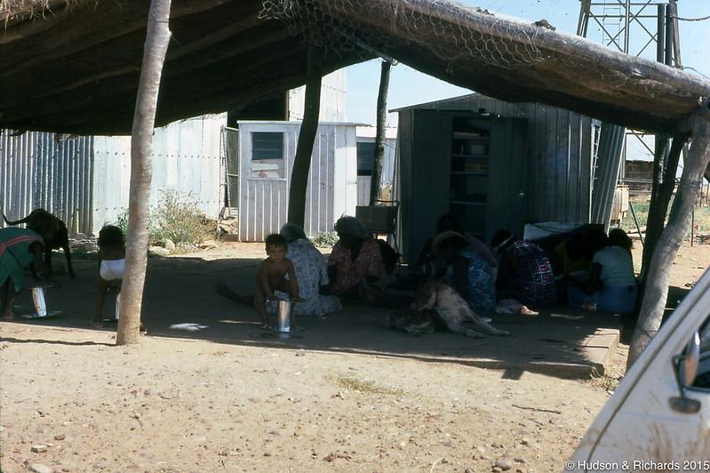 Preschool bough shed Noonkanbah