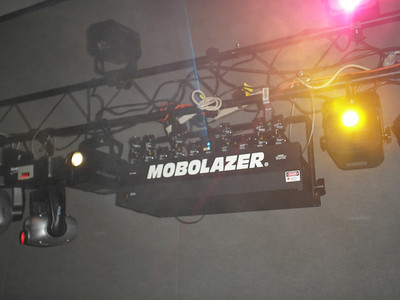 the mobolazer is a nice addition 250mw of real laser power