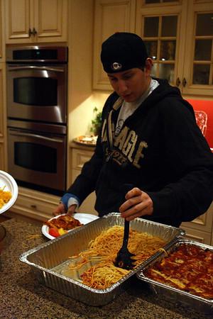 HHS Hockey Spaghetti Dinner Jan. 2007