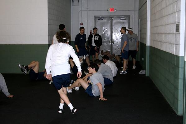 Hudson Hockey Practice 2-20-2009 (Seniors)