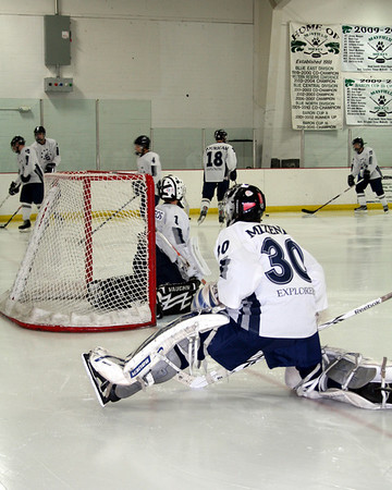 HHS Hockey (Christmas Tournament) vs Walsh 12-27-2010