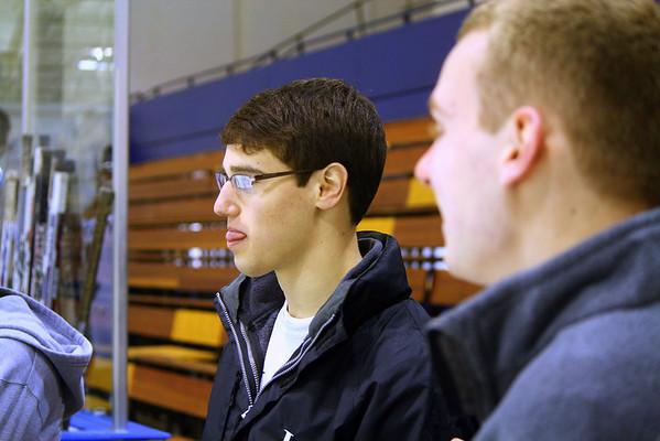 HHS Hockey (LG) vs Mentor 1-8-2011