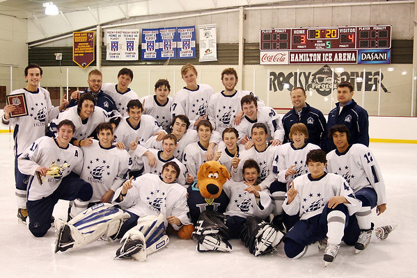 HHS Hockey RRT vs RR (Championship Game) 11-29-2010